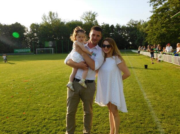 Vladimír Glonek aj s rodinou.