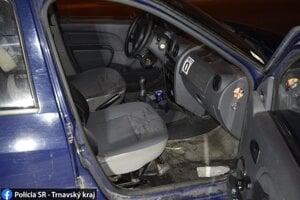 Ukradnuté auto.