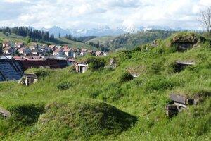 Pivničky v obci pod Tatrami majú hĺbku tri metre.