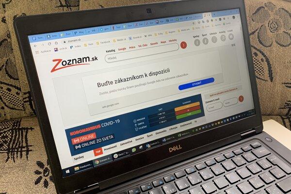 Internetový portál Zoznam.sk