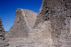 Aztécke ruiny.