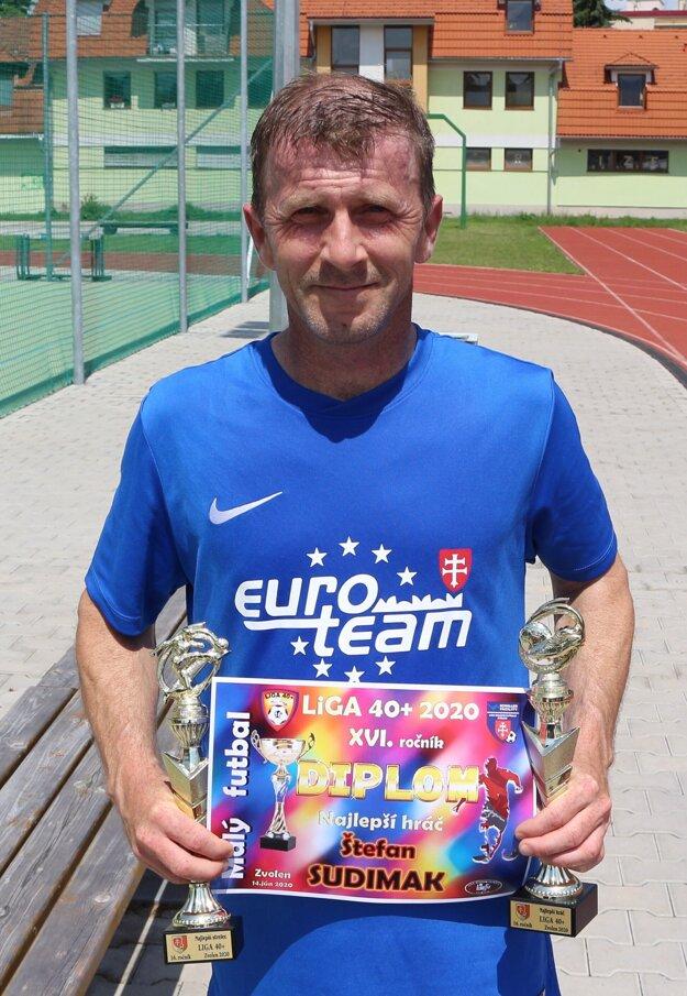 Najlepší strelec súťaže Štefan Sudimak.