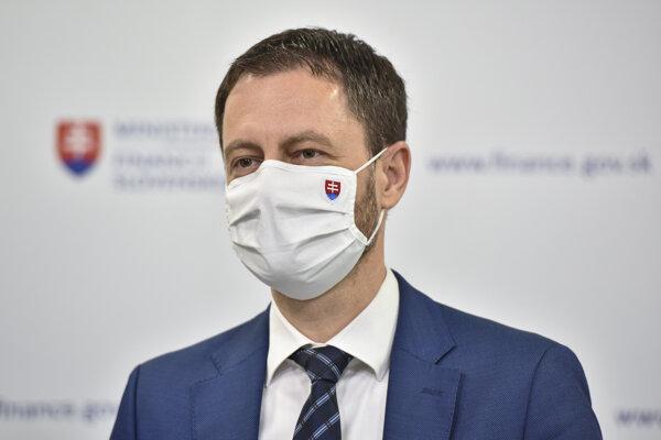 Minister financií SR Eduard Heger.