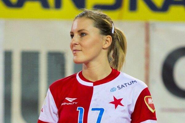 Martina Tulipánová má za sebou aj dva roky pôsobenia v pražskej Slavii.