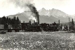 Vlak patril medzi novinky, ktoré vystrašili ľudí pod Tatrami.