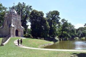 Historický park v Trebišove.