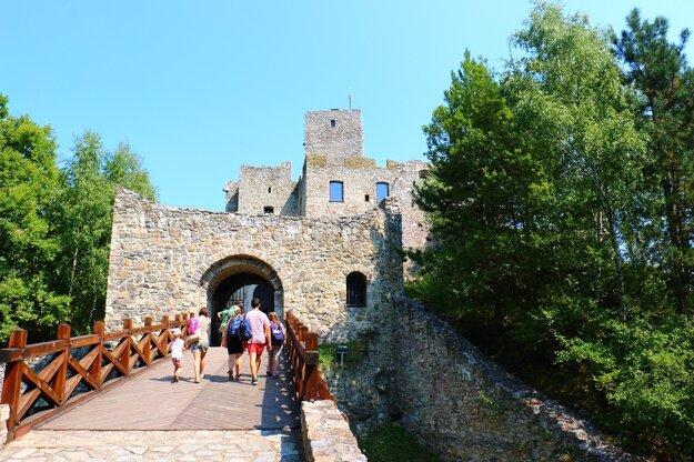 Tip na výlet v okolí,  hrad Strečno.