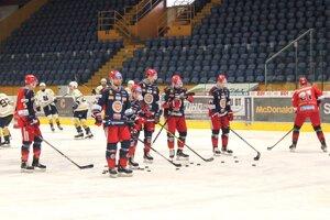Hokejisti HKM Zvolen - ilustračné foto