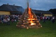 Jánska vatra v Martine.