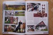 Pohľad na novú publikáciu o obci.