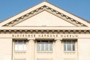 Budova  Slovenského národného múzea v Bratislave.