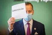 Predseda Národnej rady Slovenskej republiky Boris Kollár.