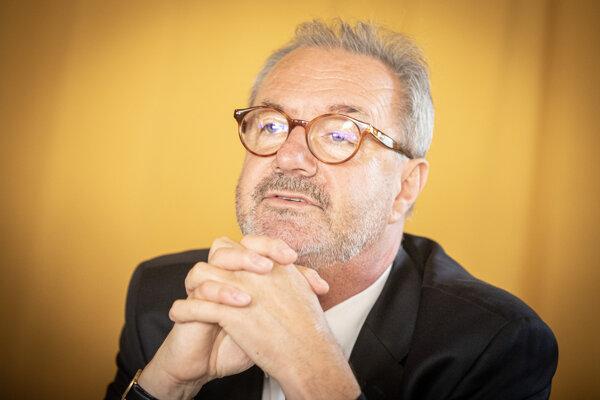 Predseda Najvyššieho súdu SR Ján Šikuta.