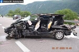 Škoda bola predbežne vyčíslená na 30 000 eur.