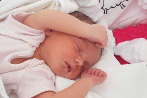 Laura Šebová (2950 g a 49 cm) sa narodila 23. júna mame Eva Vávrovej a otcovi Vladimírovi Šebovi z Levíc.