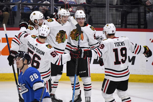 Hokejisti klubu NHL Chicago Blackhawks.
