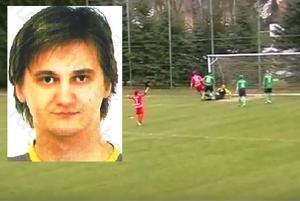 Pavel Novák sa v 28. min. nemýlil.