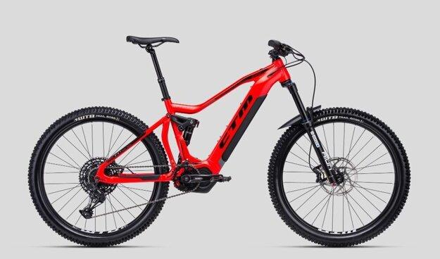 Elektrobicykel značky CTM.