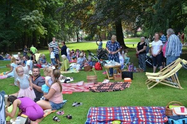 Piknik v lete.