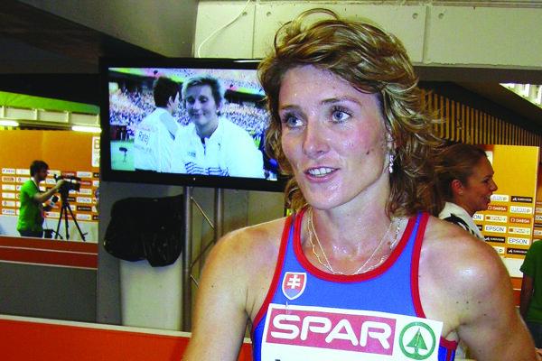 Lucia Hrivnák Klocová prepísala vBarcelone históriu slovenskej atletiky
