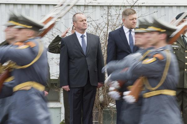 Nový minister obrany Peter Gajdoš.