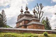 Drevený chrám v Bodružali