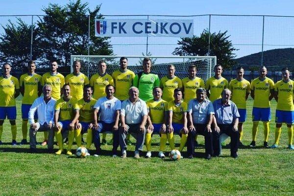 Mužstvo Cejkova sa v premiérovej štvrtoligovej sezóne prezentovalo sympatickými výkonmi.