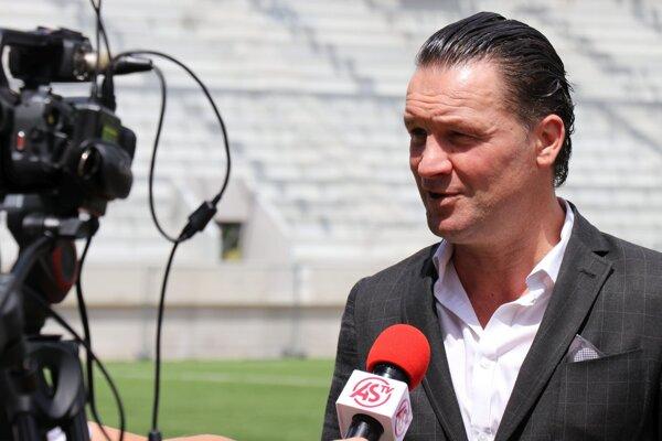 Nový tréner AS Trenčín Stijn Vreven.