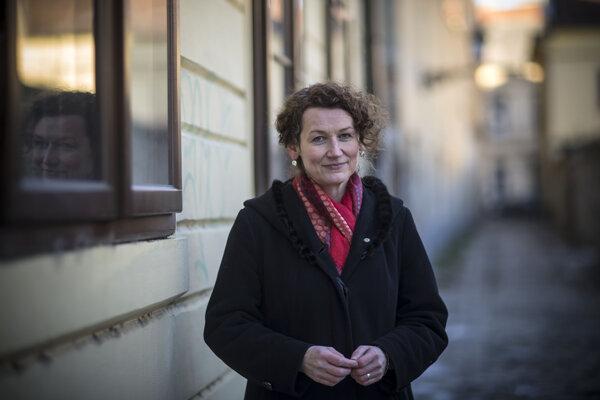 Evanjelická farárka Anna Polcková.