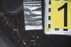 Polícia zaistila počas akcie niekoľko druhov drog.
