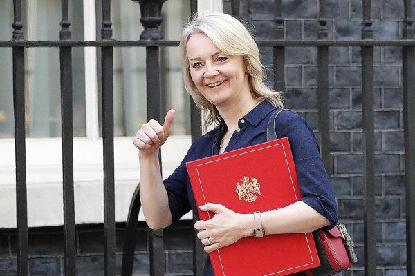 Britská ministerka obchodu Liz Trussová.