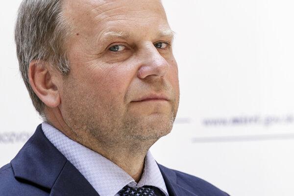 Śtátny tajomník ministerstva investícií, regionálneho rozvoja a informatizácie Vladimír Ledecký.