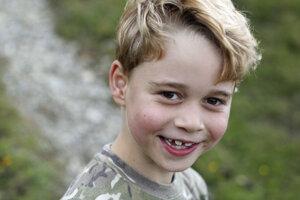 Princ George oslavuje siedme narodeniny
