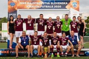 Finalisti majstrovstiev Slovenska v malom futbale - ASGuard Košice.