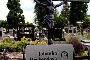 Hrob Johanky Hrebendovej Bórikovej