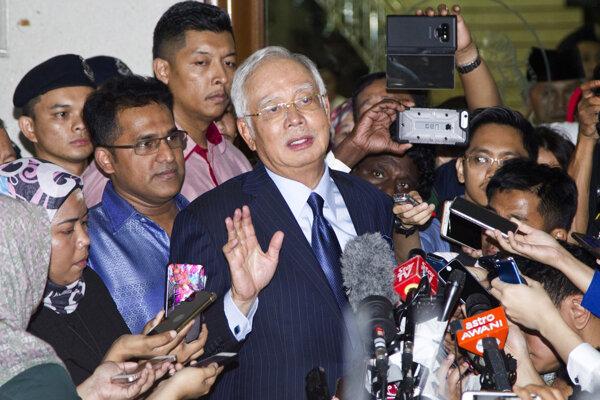 Bývalý premiér Malajzie Najib Razak.