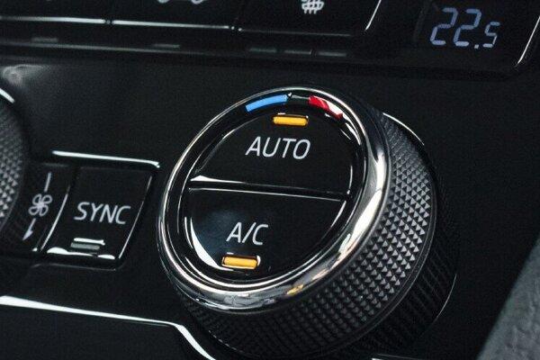 Klimatizáciu nechajte v režime Auto.