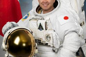 Akihiko Hošide z Japonskej vesmírnej agentúry JAXA.