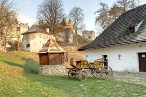 Pri Sklabinskom hrade.