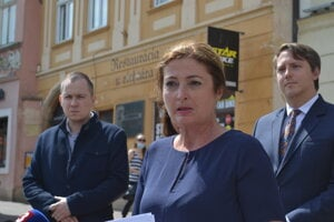 Primátorka Prešova Andrea Turčanová (KDH) informovala o výsledkoch znaleckých posudkov.
