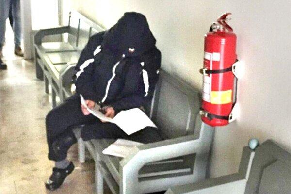Imrich J. ml. pri rozhodovaní o väzbe v januári na Okresnom súde Prešov.