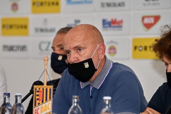 Majiteľ klubu FC DAC 1904 Dunajská Streda Oszkár Világi.