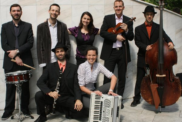 Pressburger Klezmer Band.