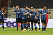Radosť futbalistov Interu Miláno.