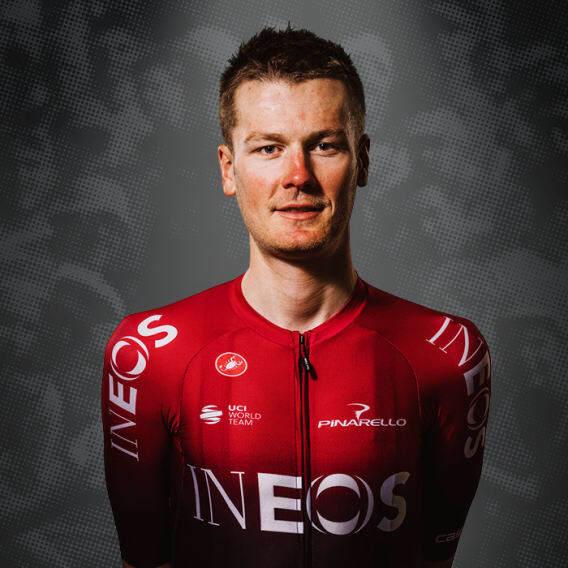 Dylan van Baarle, cyklista, tím The Ineos Grenadiers
