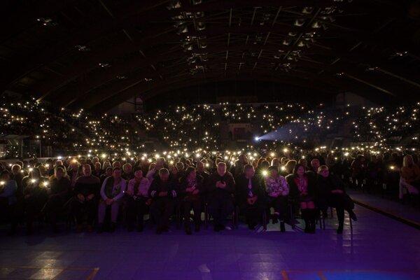 Vianočný koncert z vlanajšieho roka sa niesol v duchu výbornej atmosféry.