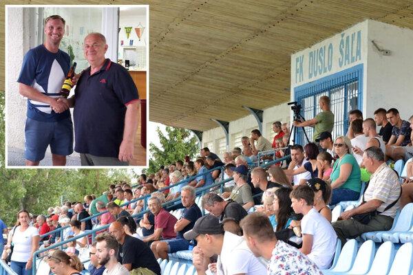 Manažér klubu Ladislav Jaroš dostal od hráčov pekný darček k narodeninám - výhru v derby nad Galantou.