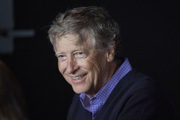 Americký miliardár a filantrop Bill Gates.