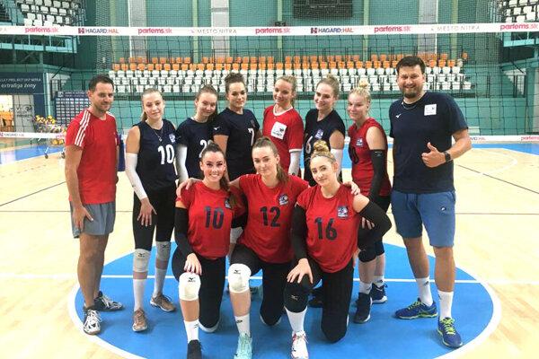 Volejbalistky UKF Nitra sa už pripravujú na novú sezónu.