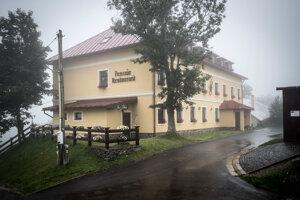 Penzión Altmayer v Štiavnických Baniach, ktorý vlastní sudca Michal Truban s manželkou.